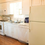 Rented! $1,250/mo 2BR/1BA in McKinley Park by Orange Line! Sunny, spacious, dishwasher, in-unit laundry, AC, hardwoods, more!